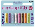 Eneloop AA Tropical 8pk just $15.98 + Postage - Dick Smith (TONIGHT ONLY)