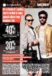 Sunglass Hut Friends and Family Discount 30 - 40% off Full Priced Sunnies