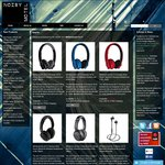25% off MEElectronics Air-Fi Wireless Headphones - AUD $74.96 and up Delivered from Noisy Motel