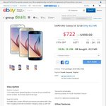 Samsung Galaxy S6 for $625 Using Code CTWENTY @ eBay (Quality Deals)