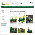 20% Discount on John Deere Electric and Pedal Ride on Toys, Tractors and Gators @ Yardgames