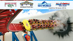 Our Deal - Unlimited Pass to Movie World, Sea World, Wet'n'Wild, & Paradise Country $89.99