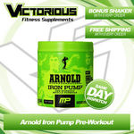 Arnold Iron Pump Pre Workout - $28.00 + FREE Express Shipping @ Victorious Supplements eBay Store