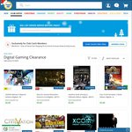 Digital Gaming Clearance $2-$30 - Just Cause 2 $4 + More @ COTD (Club Catch Membership Required)