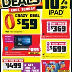 "Fitbit Flex for $59, Asus 15.6"" i7 8GB for $899 & 10% off iPads @ Dick Smith"