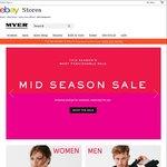 Spend $200 @ Myer eBay & Get a $100 Myer eBay Voucher