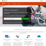 Free Microsoft Office 365 Proplus Using Eligible Uni or Work Email @ Office.com