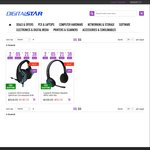 Logitech Headset Specials - H600 Wireless $59, G633 7.1 USB  $149 Both With Free Freight @ Digitalstar
