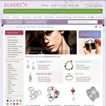 50% off All Silver or Gold Plated Jewellery at SilverJoy.com.au