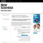 New Scientist Magazine 3 Month Print Subscription $29 (Was ~ $40)