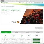 Telstra Thanks $20 Hyundai A-League Tickets All Season Long on Selected Matches