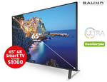 "Bauhn 65"" Smart 4K UHD (Black Series) $999 (Starts 16/11) + Garden Care (Starts 19/11) @ ALDI"