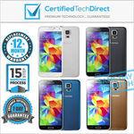 Samsung Galaxy S5 16GB [REFURBISHED] $231  @ Certified Tech Direct eBay