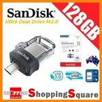 SanDisk 128GB USB 3.0 Ultra Dual OTG Micro USB Flash Drive $31.50 Delivered @ Shopping Square eBay
