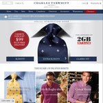 Charles Tyrwhitt Shirts - 3 for $99 including Free Aus Delivery