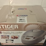 Tiger Rice Cooker JBA-T18A (Made in Japan) $300 at Costco (Membership Required)