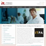 Free Short Course - Configuration Management from IT Masters