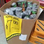 Clearance Kids Rug $7 Per Roll (Original Price Was $15.90) 80X120Cm from Bunnings (Innaloo, WA)