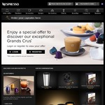 Purchase 90 Nespresso Capssules, Receive 10 Free. or Purchase 130 Nespresso Capsules, Receive 20 Free