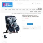 Safe-n-Sound Millenia SICT ISOFIX Convertible Car Seat $469 @ Baby Bounce RRP $649 (Babies R Us Price Beat by 10% = $422.10)