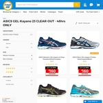 sale retailer 0a38e 6e7d1 ASICS GEL-Kayano 23 Running Shoes $160 + Delivery @ Catch of ...