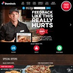 30% off Pizza, $2 Garlic Bread, $0.01 off Any Order + More @ Domino's