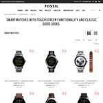 Fossil Q Gen 2 Smartwatches 30% off