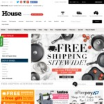 FREE Shipping Sitewide with No Minimum Spend @ House (Items from $0.75)