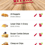 [WA & NT] 24 Nuggets for $10 @ KFC (Via App)