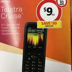 Telstra Cruise T126 and $10 Telstra Credit for $9 @ Coles