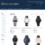 40% off Site Wide + Free Express Shipping @ The Watch Factory ($250 Minimum Spend)