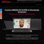 Win a Custom EVO15-S Gaming Laptop Worth $2,700 from ORIGIN PC