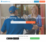 [NSW, Syd / WA, Perth] Laundromap Dry Cleaning: $10 off Your First Order