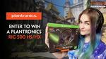 Win a Plantronics RIG 500 HS/HX Headset Worth $99 from Plantronics ANZ/TamTam