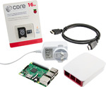 Raspberry Pi 3 Starter Kit: $81 + $6.95 Postage @ Core Electronics. All Official Hardware. OzBargain Exclusive