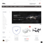 DJI Mavic Pro ($1397)/Platinum ($1497), Fly More Combo ($1797)/Platinum ($1897) with Bonus DJI Care & Bag @ gifthispresent.com