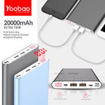 Yoobao A2 20000mAh 2 USB Output with Micro and Lightning Input Power Bank $30.77 Delivered from Sydney @ Mobile Mall on eBay