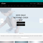 20% off All Full Priced Clarks Kids Shoes - Click Frenzy Junior