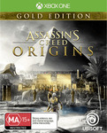 [XB1] Assassin's Creed Origins Gold $77, Metal Gear Solid 5 Collectors Edition $77, COD WW2 Valor Collection Pro $77 @ EB Games