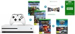 Xbox One S 1TB Console Bundle with Minecraft Complete Adventure/Steep/The Crew $347 @ Harvey Norman