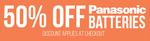 Bing Lee Panasonic Battery Sale 50% off (Eneloop Smart & Quick Charger, Now $29.50; AA / AAA Eneloop PRO 4pk, Now $14.50)