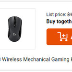 Logitech G603 Lightspeed Wireless Gaming Mouse and Logitech G613 Mechanical Keyboard Combo @ MightyApe ($188.13 + Delivery)