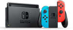 Nintendo Switch Console - Neon $399 ($9.90 for Home Delivery) @ Big W