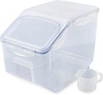 Lock & Lock 12L Pantry Container $16.99, Nested 5 Piece Set $14.99 @ ALDI