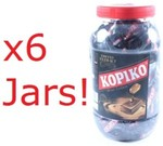 6x Kopiko Mini Coffee Jar 600g + 6x FREE Kopiko Coffee Glass - $30 + $8.95 Shipping