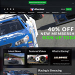 iRacing - 40% off New Memberships + 25% off Renewals