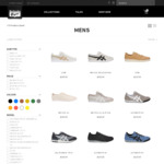 Spend over $200, Get 20% off 'Mens Gear' with Coupon @ Onitsuka Tiger and ASICS