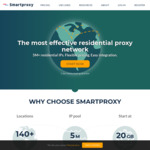 Smartproxy - 15% off Selected Plans. $75 USD/Month ($104 AUD/Month)