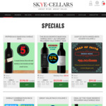 Pepperjack Shiraz for $198/Dozen ($16.50/Bottle) + $9 Delivery (Free in SA) @ Skye Cellars