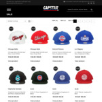 Half Price Sale - Hats and Shirts from $9.95 + $7.95 Delivery (Free Delivery on Orders over $50) @ Capstar